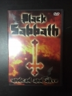 Black Sabbath - Undead And Alive DVD (VG/M-) -heavy metal-