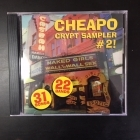 Cheapo Crypt Sampler #2! CD (VG+/M-)