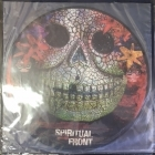 Naevus / Spiritual Front - Bedtime / Badtime (limited edition picture disc) 10'' EP (M-/M-) -neofolk-