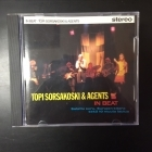 Topi Sorsakoski & Agents - In Beat (1.painos) CD (M-/M-) -iskelmä-