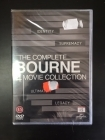Complete Bourne 4 Movie Collection 4DVD (avaamaton) -toiminta-