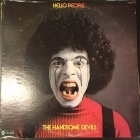 Hello People - The Handsome Devils LP (VG+/VG) -power pop-