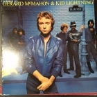 Gerard McMahon & Kid Lightning - Blue Rue LP (VG+/VG+) -pop rock-