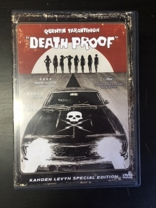 Death Proof (special edition) 2DVD (M-/M-) -toiminta-