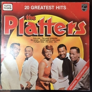 Platters - 20 Greatest Hits LP (VG+/VG) -soul/r&b-