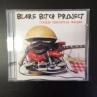 Blare Bitch Project - Double Distortion Burger CD (M-/M-) -punk rock-