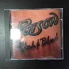 Poison - Flesh & Blood CD (VG+/VG+) -hard rock-