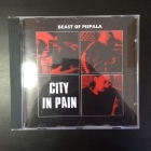City In Pain - Beast Of Pispala CD (M-/M-) -psychedelic garage rock-