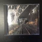 Adjusting Distorted Individuals - Train Of Thought CD (VG+/M-) -hardcore-