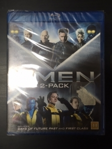 X-Men - Days Of Future Past / X-Men -  First Class (2 disc) Blu-ray (avaamaton) -toiminta-