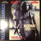 Maximum Risk LaserDisc (VG-VG+/VG+) -toiminta-