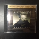 Bryan Adams - Reckless (Ultradisc I 25 KT Gold) (JPN/UDCD544/1991) CD (VG/M-) -pop rock-
