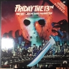 Friday The 13th Part VIII - Jason Takes Manhattan LaserDisc (VG/VG+) -kauhu-