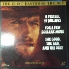 Clint Eastwood Trilogy (A Fistful Of Dollars / A Few Dollars More / The Good, The Bad, And The Ugly) LaserDisc (VG+/VG+) -western-