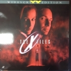 X-Files - Fight The Future LaserDisc (VG+-M-/M-) -jännitys/sci-fi-
