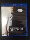 3 Days To Kill Blu-ray (avaamaton) -toiminta-