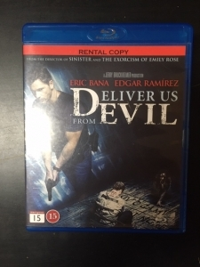 Deliver Us From Evil Blu-ray (M-/M-) -kauhu-