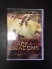Age Of The Dragons DVD (G/VG+) -seikkailu- (ex-vuokravideo)