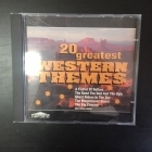 20 Greatest Western Themes CD (M-/M-) -soundtrack-