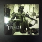 Arcane Dimension - In Ecstasy And Sorrow CD (VG+/M-) -gothic metal-
