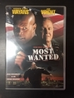 Most Wanted DVD (M-/M-) -toiminta-