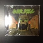 Overkill - The Years Of Decay CD (avaamaton) -thrash metal-