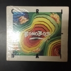 Bonobos - Crida! CD (avaamaton) -latin pop-