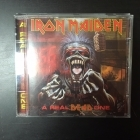 Iron Maiden - A Real DEAD One CD (VG+/M-) -heavy metal-