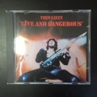 Thin Lizzy - Live And Dangerous CD (VG/VG+) -hard rock-