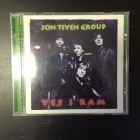 Jon Tiven Group - Yes I Ram CD (M-/M-) -blues rock-