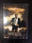 Wicker Man DVD (VG+/M-) -kauhu-