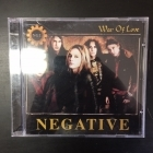 Negative - War Of Love CD (VG/M-) -glam rock-