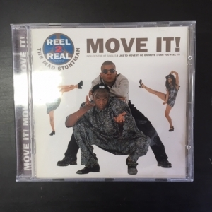 Reel 2 Real Featuring The Mad Stuntman - Move It! CD (VG/M-) -house-