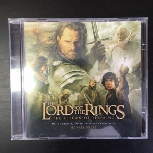 Lord Of The Rings - The Return Of The King CD (VG+/M-) -soundtrack-