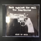 Back Against The Wall / The Heartburns - Sink Or Swim CD (VG+/VG+) -hardcore/punk rock-
