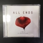 All Ends - A Road To Depression CD (M-/M-) -alt metal-