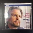 Tom Krause & Irwin Gage - Schumann: Dichterliebe / Brahms: Songs / Musorgsky: Songs And Dances Of Death CD (VG/VG+) -klassinen-