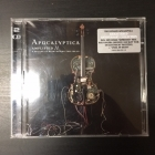 Apocalyptica - Amplified (A Decade Of Reinventing The Cello) 2CD (VG-M-/M-) -symphonic heavy metal-