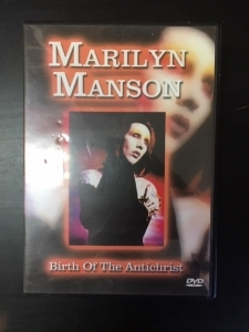 Marilyn Manson - Birth Of The Antichrist DVD (VG+/M-) -industrial rock-