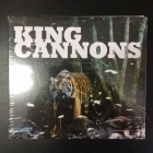 King Cannons - King Cannons CDEP (avaamaton) -punk rock-