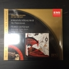 Strauss II - Die Fledermaus (remastered) 2CD (avaamaton) -klassinen-