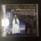 Great Voices Of The Opera II - Unforgotten Voices Vol.2 2CD (M-/M-) -klassinen-
