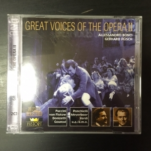 Great Voices Of The Opera II - Allessandro Bonci / Gerhard Hüsch 2CD (M-/M-) -klassinen-