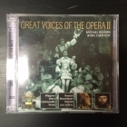 Great Voices Of The Opera II - Michael Bohnen / Boris Christoff 2CD (VG+-M-/M-) -klassinen-