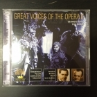 Great Voices Of The Opera II - Georges Thill / Tito Gobbi 2CD (M-/M-) -klassinen-