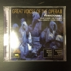 Great Voices Of The Opera II - Hilde Güden / Ebe Stignani / Tiana Lemnitz / Sigrid Onegin 2CD (M-/M-) -klassinen-