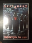 Testament - Seen Between The Lines DVD (VG/M-) -thrash metal-