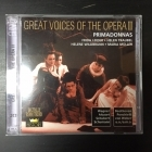 Great Voices Of The Opera II - Frida Leider / Helen Traubel / Helene Wildbrunn / Maria Müller 2CD (M-/M-) -klassinen-