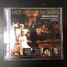 Great Voices Of The Opera II - Victoria De Los Angeles / Hina Spani 2CD (M-/M-) -klassinen-