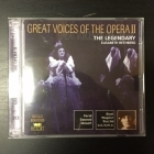 Great Voices Of The Opera II - Elisabeth Rethberg 2CD (VG+-M-/M-) -klassinen-